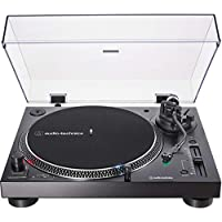 Audio-Technica AT-LP120XUSB Direct-Drive Turntable (Analog & USB), Black, Hi-Fidelity, Plays 33 -1/3, 45, and 78 RPM Records, Convert Vinyl to Digital, Anti-Skate Control, Variable Pitch Control 需配變壓器