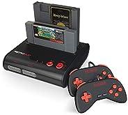 Retro-Bit-RD-1279 復古二合一游戲機 - 紅色/黑色