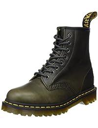 Dr. Martens 男士 1460 Dark Taupe Orleans 皮革时尚靴子
