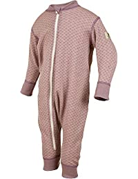 Janus 美利奴羊毛婴儿连体衣。 可机洗。 挪威制造。