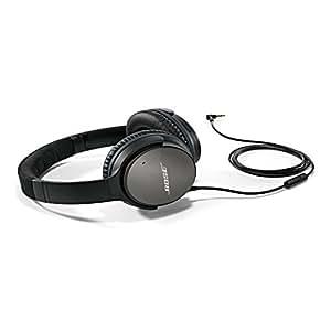 Bose QuietComfort QC25 有源消噪 头戴式耳机-Samsung及Android版本-黑色  (有线)