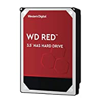 WD HDD 内置硬盘 3.5英寸 8TB WD Red NAS用 WD80EFAX 5400rpm