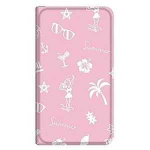 智能手机壳 手册式 对应全部机型 薄型印刷手册 cw-191top 套 手册 海滩女孩 超薄 轻量 UV印刷 壳WN-PR221478-ML iPhone6s 图案E