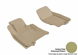 3D MAXpider 定制适合全天候地垫 棕褐色 L1IN00311502