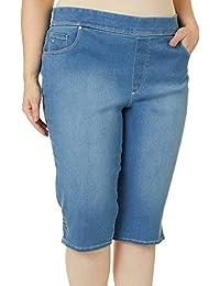 Gloria Vanderbilt 女士小号 Avery 套穿 Skimmer 短裤