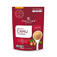 Navitas Naturals - 未加工的Camu Camu粉末Rainforest Superfruit - 3盎司