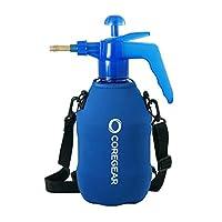 COREGEAR (超酷 XLS USA Misters 1.5 升喷雾器个人水泵,带全氯丁橡胶外套和内置携带带