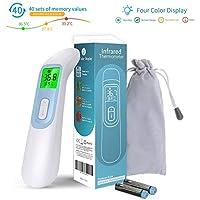 Elvissmart ES-IT-01 非接触式红外线温度计带液晶显示屏,数字即时读数,*适合婴儿、成人
