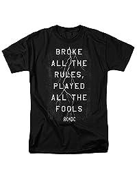 Popfunk AC DC Thunderstuck 歌词 Razor's Edge 专辑 T 恤和*贴纸