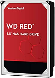 Western Digital Red NAS 内置硬盘驱动器 - 5400 RPM级,SATA 6Gb/s,256 MB高速缓存,3.5英寸 WD40EFAX  4TB