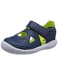 adidas kids 阿迪达斯童鞋 男童 户外运动凉鞋 FORTASWIM 2 C CQ0082