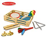 Melissa & Doug 玩具乐器!叮当!砰!- 10 件乐器套装