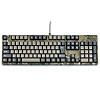 FILCO Majestouch2 Camouflage-R 电脑键盘 绿色 日本語配列108フルサイズ