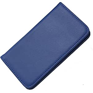 智能手机壳 手册式 真皮 牛皮 真皮RL-0338-NV/SH-01K 4_AQUOS sense (SH-01K) 藏青色