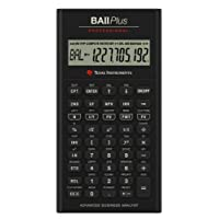 Texas Instruments 德州仪器 TI BAII plus professional 计算器