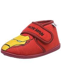 Cerdá 男孩复仇者队拖鞋,红色(Rojo C06),英国8 英国儿童