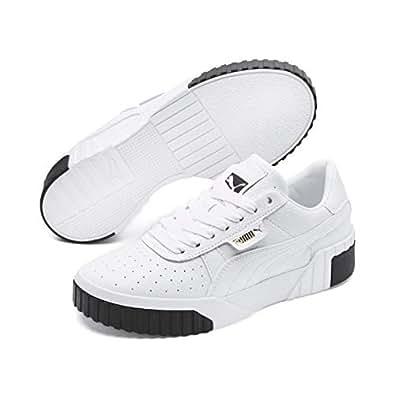 PUMA 彪马 Cali WN 女式运动鞋 Weiß (Puma White-puma Black 04) 37 EU