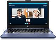 HP 惠普 Stream 11 英寸高清笔记本电脑,Intel Celeron 英特尔赛扬 N4000,4 GB 内存,32 GB eMMC,Windows 10 家庭 S 模式,带 Office 365 个人电脑,1