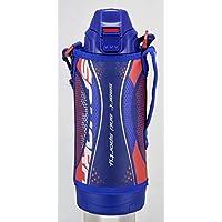 TIGER 虎牌 不銹鋼水杯 保溫杯 800ml SAHARA系列 運動型 直飲杯 帶杯子 兩用型 藍色 MBO-H080A