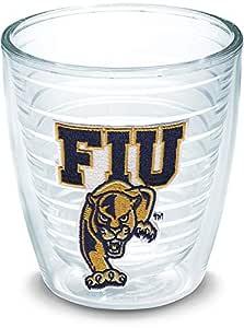 Tervis 1079171 Florida Inter University Emblem Individual Tumbler, 12 oz, Clear