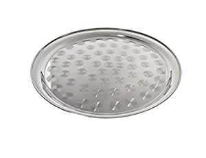 Pinch TRYS-16 Round Stainless Steel Serving Tray, 16-Inch