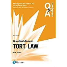 Law Express Question and Answer: Tort Law (Law Express Questions & Answers) (English Edition)