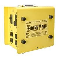 科勒曼电缆 01980 X-Treme Box 01980 便携式临时配电设备 盒,转换(1)L14-30P 到 (8) 5-20R