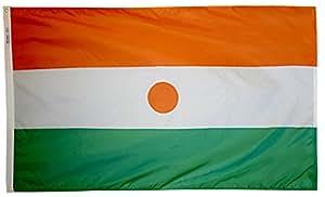 Annin Flagmakers 尼龙太阳镜 NYL-Glo 尼日尔国旗 3x5' 196304