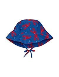 i play. Baby & Toddler Bucket Sun Protection Hat  Royal Blue Lobster 2T/4T