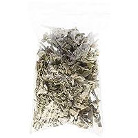 Incense Garden 加利福尼亚白鼠尾草宽松叶,Salvia Apiana 多层,干污和燃烧灰*,1 磅袋 白色 2 盎司 INCE-114