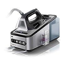 Braun 博朗 CareStyle 7 蒸汽熨斗 7156 Pro,聚碳酸酯材质,2L水箱,灰/黑/紫