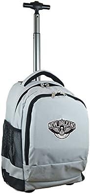Denco NBA 远征车轮式背包,48.26 厘米,灰色