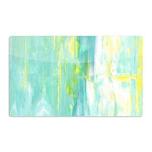 "KESS InHouse CarolLynn Tice""Spring Forward""*艺术铝磁铁,5.08 厘米 x 7.62 厘米,多色"