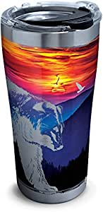 Tervis 1305673 登山熊场景不锈钢隔热玻璃杯 银色 20 oz Stainless Steel 1305672
