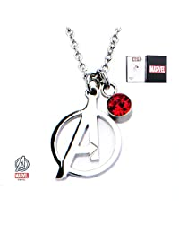 Avengers Logo Stainless Steel Pendant Necklace With Gift Box from Outlander Gear
