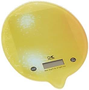 Kalorik 数字厨房秤 黄色 小号 EKS 42441 Y