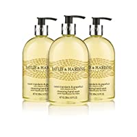 Baylis & Harding Hand Wash, Sweet Mandarin and Grapefruit, 500 ml, Pack of 3