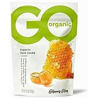 GoOrganic Organic Hard Candies, Honey, 3.5 Ounce Bag (Pack of 6)