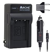 ARCHE LI-42B LI-40B LI-40C LI-41C 快速单头充电器 适用于[奥林巴斯 Stylus 1040、1050W、1060、107010、7020、7030、Tough 3000、TG-310、TG-320、VR310、VR310、VR320数码相机]