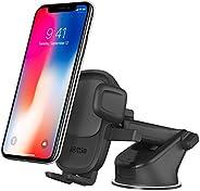 iOttie Easy One Touch 5 仪表板和挡风玻璃车载手机支架桌面支架,适用于 iPhone、Samsung、摩托、华为、Nokia、LG、智能手机