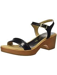 UNISA 女 时装凉鞋 IRITA_18_NA 黑色 36 (亚马逊进口直采, 西班牙品牌)
