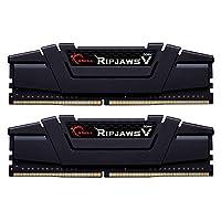 Gskill F4 3200 °C16D 32GVK 内存 D4 3200 32GB C16 Ripv K2 2x 16GB,1.35 Ripjawsv 黑色