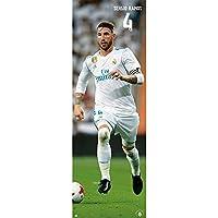 Grupo Erik editores Gate - 2017/2018海报,Real Madrid Sergio Ramos,53 x 158厘米