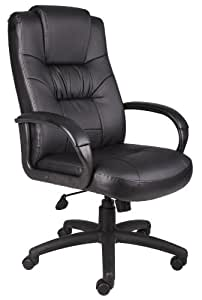 Boss Executive Leather Chair Black