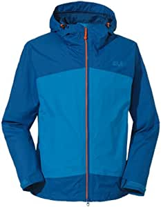 Jack Wolfskin Airrow Gentlemen blue (Size: XXL) raincoat