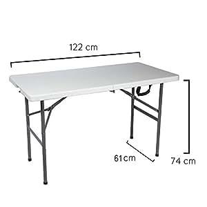 Papillon 8043810 折叠桌 矩形 122 X 61 X 74 厘米