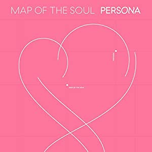 Bts Map of The Soul : Persona [Ver.01+Ver.02+Ver.03+Ver.04 Set] - Pack of 4CD, 4Photobook, Photocards, 4Folded Poster+Extra photocard set 【亚马逊海外卖家]