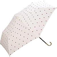 World Party(Wpc.) 雨傘 折疊傘 女式 帶傘袋 緊身心 迷你 50cm 9850-010 OF