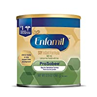 Enfamil 美赞臣 Prosobee 1段 0-12个月 富含大豆基 婴幼儿配方奶粉 366g/罐 单罐装 防胀气和牛乳过敏