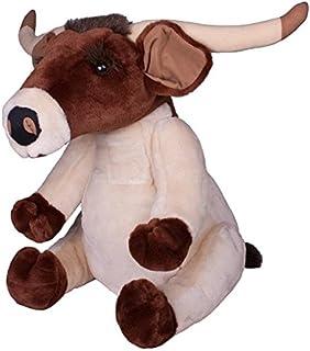 Carstens 长角牛 15 英寸坐姿毛绒动物玩具